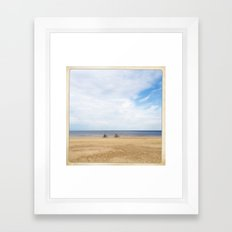 ride your bycicle Framed Art Print
