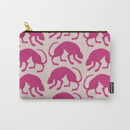 Wild Cats - Pink Carry-All Pouch