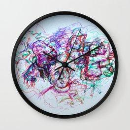 Jazzy Jumble Wall Clock