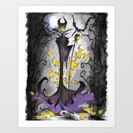 Maleficent  Art Print