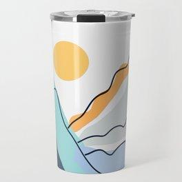 Minimalistic Landscape II Travel Mug