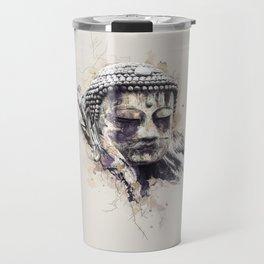 Buddha (Brown Version) Travel Mug