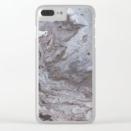 Sand Storm Clear iPhone Case