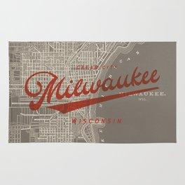 Milwaukee Map Rug