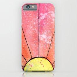 Sun-Watercolor iPhone Case