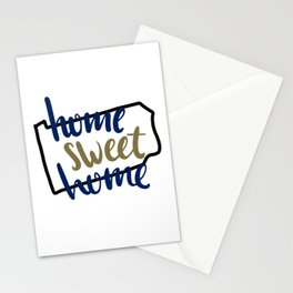 Home Sweet Home Pennsylvania Stationery Cards