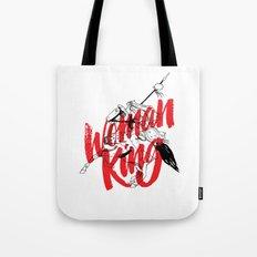 woman king Tote Bag
