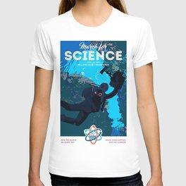 March For Science : Marine Biology T-shirt