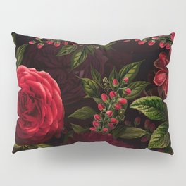 Mystical Night Roses Pillow Sham