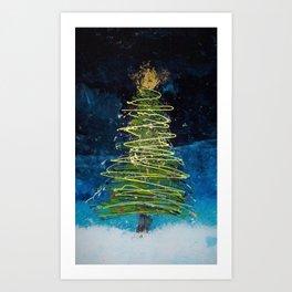 Oh Christmas tree! Art Print