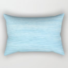 Colors of the Sea Water - Clear Blue Rectangular Pillow