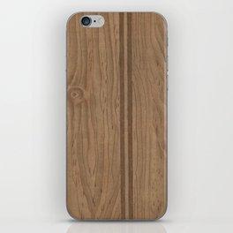 Vintage Wood Panel iPhone Skin