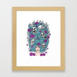 Lady Nature. Framed Art Print