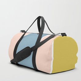 Retro Spring Color Block Duffle Bag