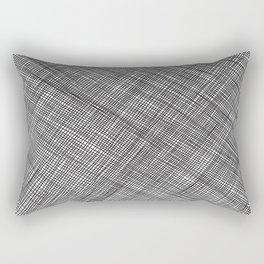 Crosshatch Pattern Rectangular Pillow