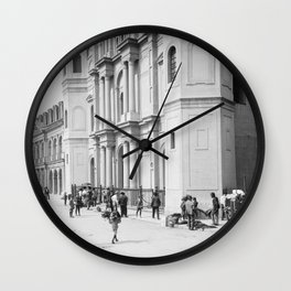 Saint Louis Cathedral, New Orleans 1910 Wall Clock