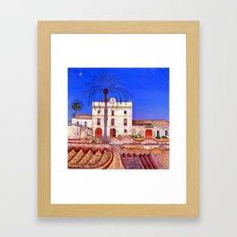 Joan Miro House with Palm Tree Framed Art Print