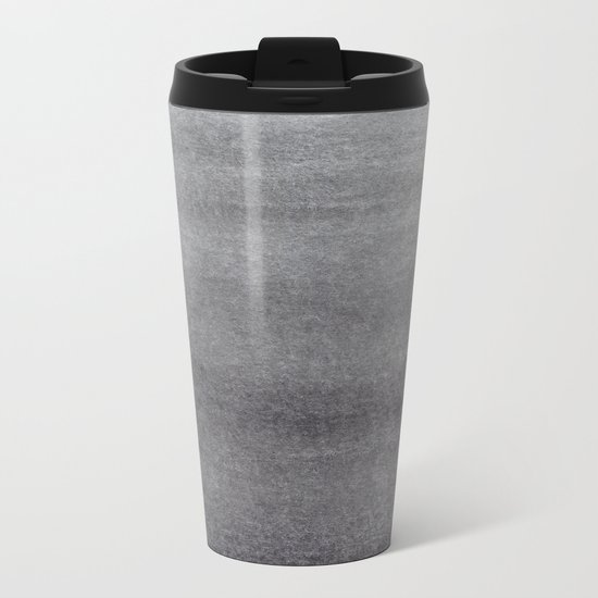 Abstract Horizon Metal Travel Mug