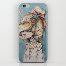 My Caged Heart iPhone & iPod Skin