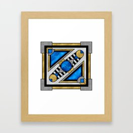 Boxball - Art Deco Design Framed Art Print