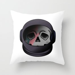 starman helmet Throw Pillow