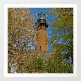 Currituck Beach Lighthouse Art Print