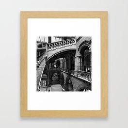 Through the Arches Framed Art Print