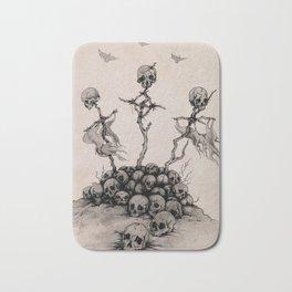 Pile of Skulls Bath Mat