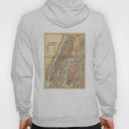 Vintage NYC Subway Map (1903) Hoody