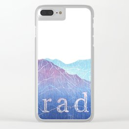 Colorado Mountain Ranges_Pikes Peak + Continental Divide Clear iPhone Case