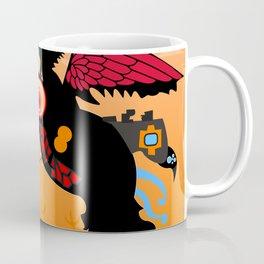 Loch Ness Monster Crow Coffee Mug