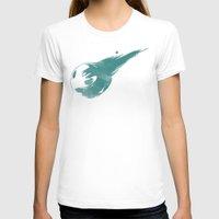 final fantasy T-shirts featuring FINAL FANTASY VII by DrakenStuff+