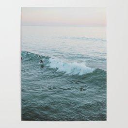 lets surf v Poster