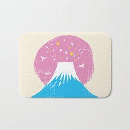 "Symbol of happiness ""Mount Fuji"" Japan Bath Mat"