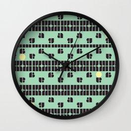 A dot! Wall Clock