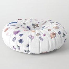 Gemstones Floor Pillow