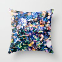 sparkle Throw Pillows featuring Sparkle by Stephen Linhart