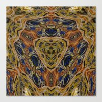 hippy Canvas Prints featuring Hippy by RingWaveArt