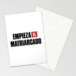 Empieza El Matriarcado Stationery Cards