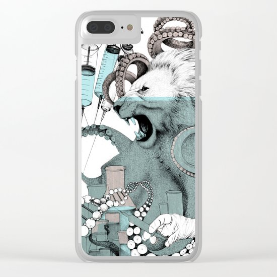 Genetics Clear iPhone Case