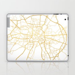 MUNICH GERMANY CITY STREET MAP ART Laptop & iPad Skin