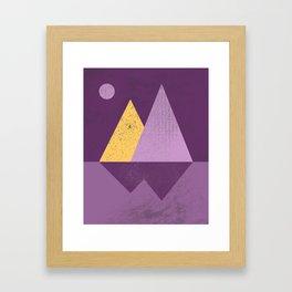 Abstract Landscaoe Framed Art Print