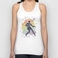 rainbow Tank Tops featuring Rainbow Warrior by LordofMasks