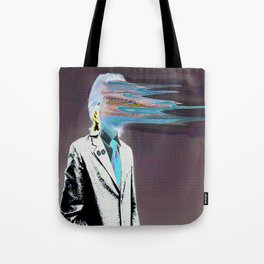 NO ONE AROUND HERE HAS THE GUTS INVERT Tote Bag