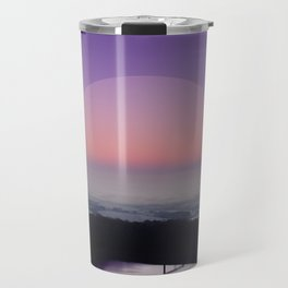 Reservoir Sunrise Travel Mug
