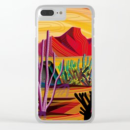 Love Mountain Clear iPhone Case