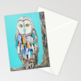 Imaginary owl Stationery Cards