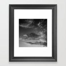 'Clouds' Framed Art Print
