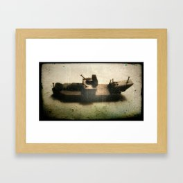 the ship Framed Art Print