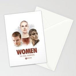 WOMEN // The Real Warriors Stationery Cards